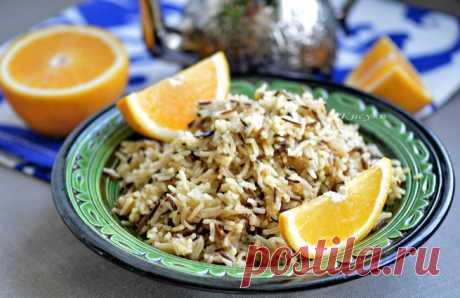 Пряный апельсиновый рис | Кошкин дом