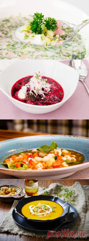 10 лучших рецептов летних супов.