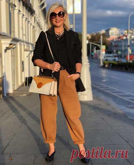 Мода для леди 45+: Как в джинсах выглядеть стильно и современно