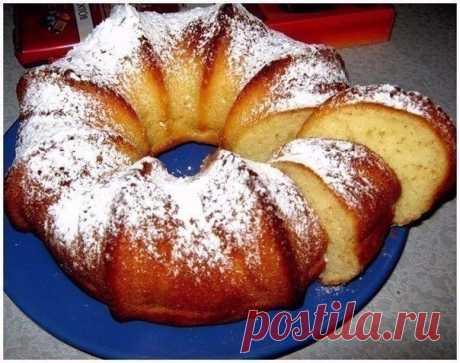Как приготовить быстрый кекс на кефире - рецепт, ингридиенты и фотографии