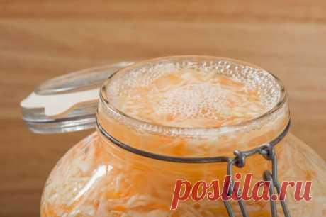Сколько капусты, моркови и соли надо для квашения в одной 3 л банке 🚩 Еда 🚩 Другоее