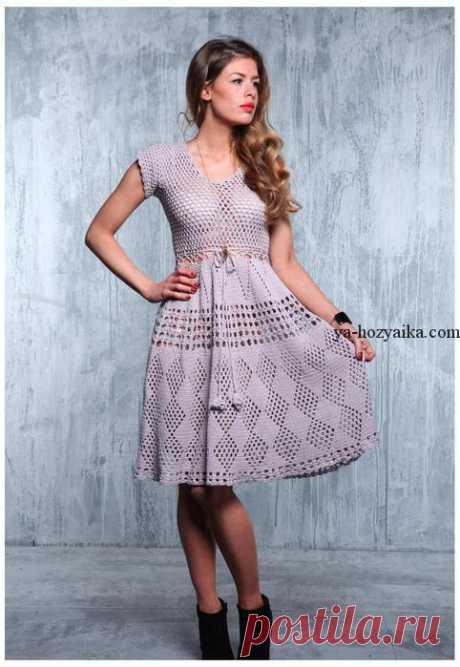 Красивое платье крючком схемы. Платье с подиума филейным узором Красивое платье крючком схемы. Красивейшее платье с подиума филейным узором