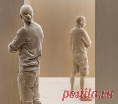 15 скульптур из дерева, которые вот-вот оживут