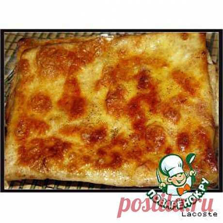 Конвертики из лаваша - кулинарный рецепт
