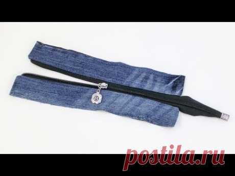 Как пришить застежку молнию к планке для сумки. How to sew a zipper for a bag