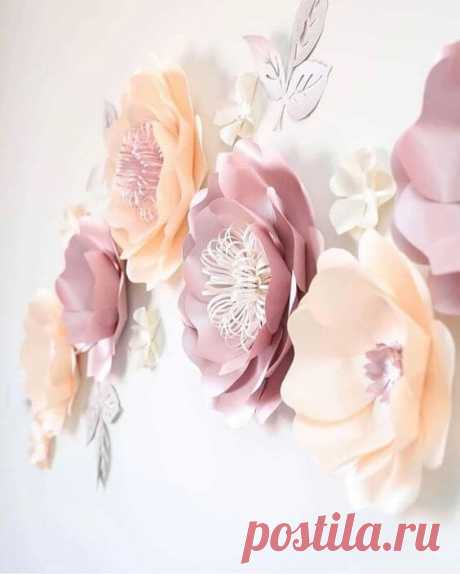 Декор из бумаги на стену: 25 идей как украсить свой интерьер