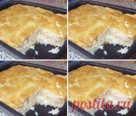 Рыбный пирог — вкуснотище!