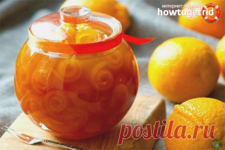 Варенье из апельсиновых корок: 4 рецепта
