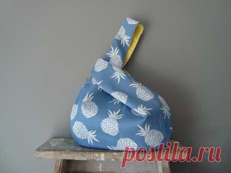 Японская сумка-узелок своими руками — Мастер-классы на BurdaStyle.ru