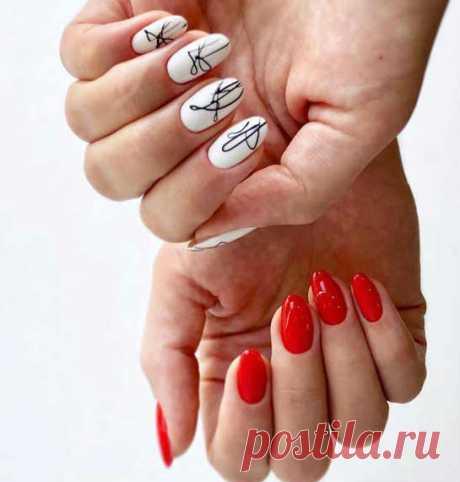 Стильный маникюр 2020: фото, новинки. - Ikrasivo.com #маникюр#дизайнманикюра#новинкиманикюра#ногти