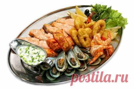 Некоторые секреты по приготовлению блюд из рыбы и морепродуктов