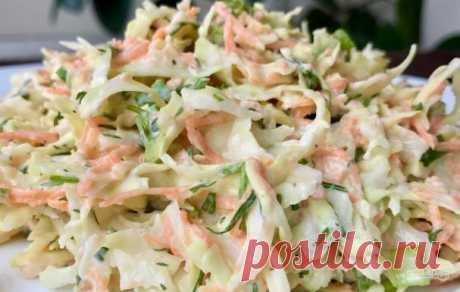 Весенне-летний салат из капусты - пошаговый рецепт с фото на Повар.ру