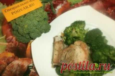 Брокколи в сливочном соусе запеченные в духовке рецепт пошагово с фото как приготовить готовим дома на скорую руку