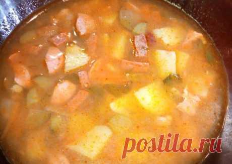 (5) Солянка простая - пошаговый рецепт с фото. Автор рецепта Анастасия . - Cookpad
