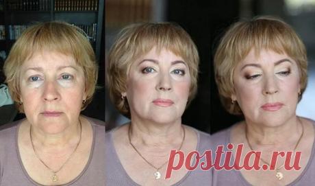 Нехитрый макияж для женщины 60 лет | Мне 50 | Яндекс Дзен