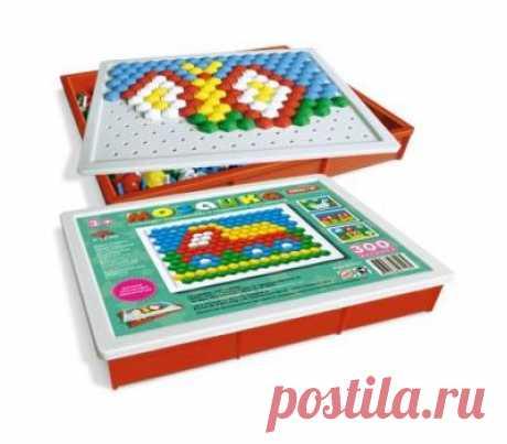Мозаика 13 мм/300 шт - купить в магазине развивающих игрушек Детский сад detsad-shop.ru