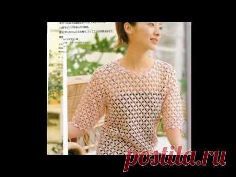 Красивые модели из журнала Lets Knit Series №12 / Обзоры / Схемы в описании #LoveKnitCrochet #Knit