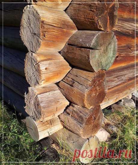 Como sustituir las coronas inferiores del corte de madera del baño y la casa
