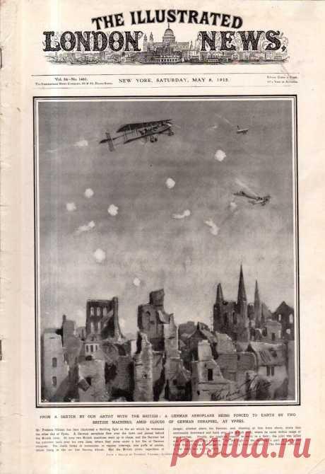 1915.05.08 - The Illustrated London News (New York) | Sovetika.ru - обложки старых журналов