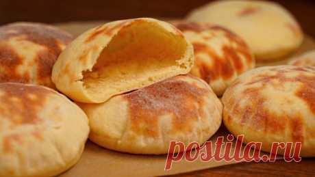 Это ОЧЕНЬ просто! Лепешки-кармашки из КАРТОШКИ – Вкусные лепешки вместо хлеба