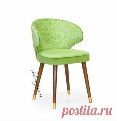 Стул из массива бука зеленого цвета Глори 12 Г-28. В интернет-магазине Chudo-magazin.ru в Москве.