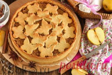 Яблочный пирог по-берлински – рецепт с фото