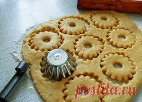 Быстрое песочное тесто для пирогов