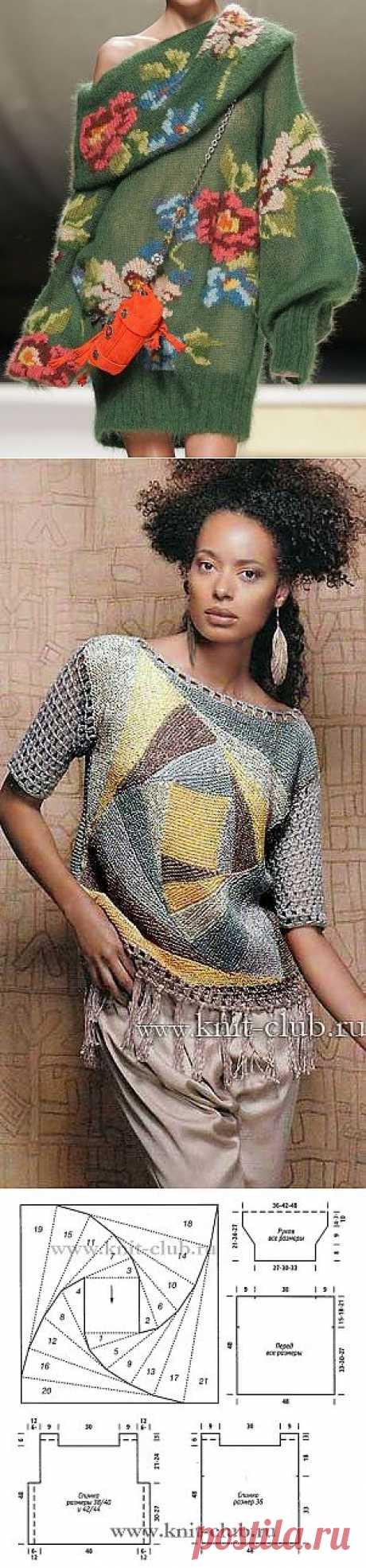вязание спицами для женщин - Самое интересное в блогах