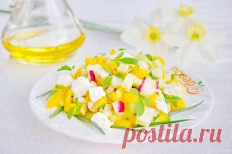 Салат весенний с сельдереем - пошаговый рецепт с фото на Повар.ру