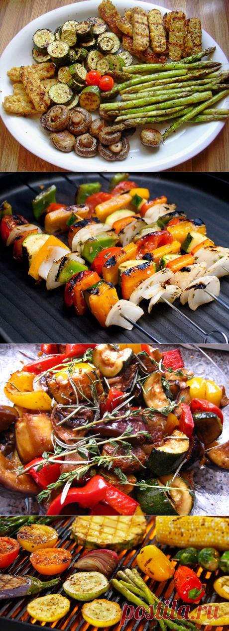 Всего 10 минут в этом маринаде подарят твоим овощам гриль невероятный вкус!