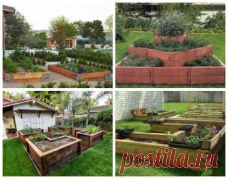 Огород в радость, или Как создать идеальные грядки