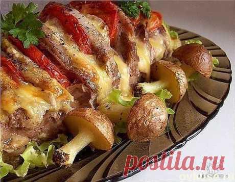 Картофельные грибочки на поляне - Простые рецепты Овкусе.ру