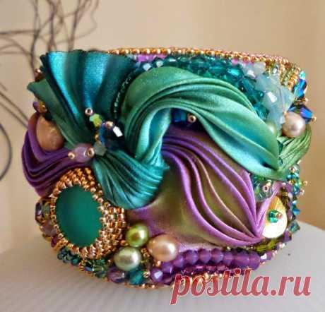 Step+by+Step+Shibori+Cuff+by+Serena+Di+Mercione+Jewelry+18.jpg (960×922)
