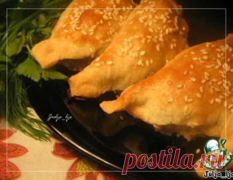 """Закусочные слойки с начинкой """"Жюльен"""" – кулинарный рецепт"""