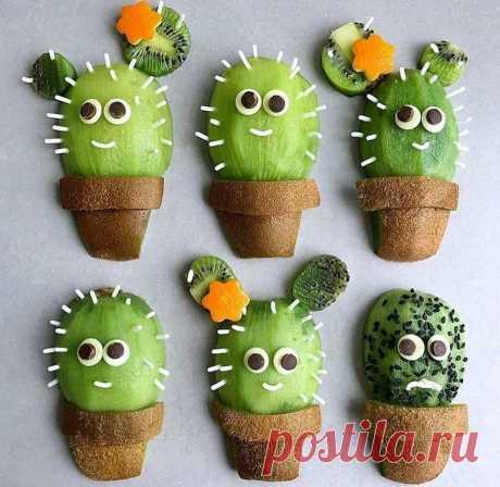 Забавные идеи с фруктами