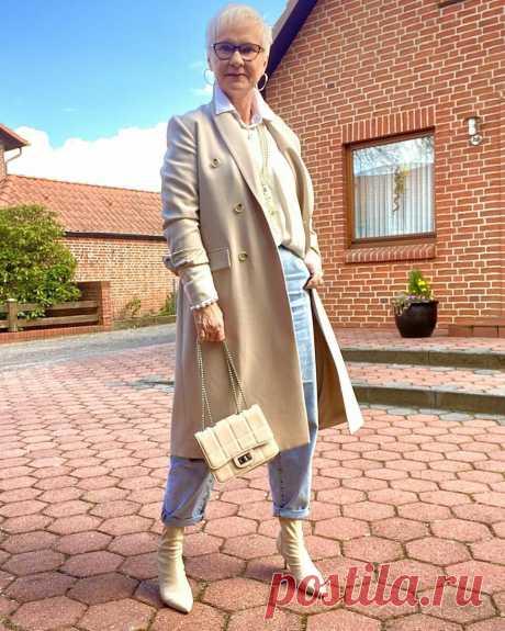 Как одеваться в 60, чтобы ловить на себе восторженные взгляды: 17 примеров стильной модницы | LADY DRIVE 🎯 | Яндекс Дзен