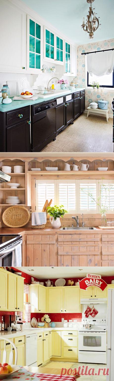 30 бюджетных идей обновления кухонной мебели