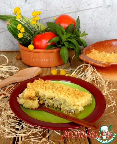 Кабачковый крамбль – кулинарный рецепт