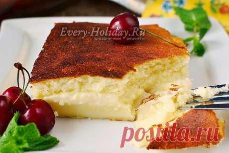 Умное пирожное, рецепт с фото пошагово