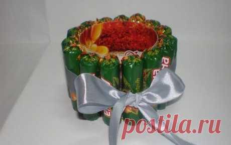 Подарки и композиции из конфет: коллекция мастер-классов