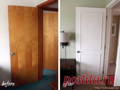 Переделка старой двери Потребность в обновлении межкомнатных и входных дверей возникает периодически у каждого. Решить проблему можно двумя способами: приобрести новые или отреставрировать двери старые. Второй вполне реально осуществить без обращения к специалистам...
