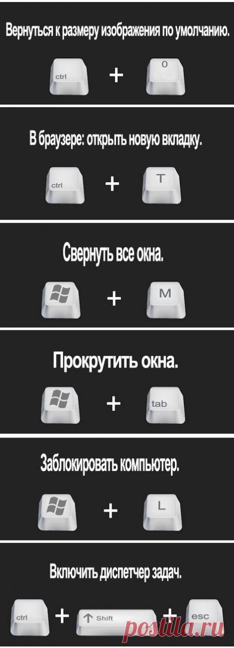 Полезные горячие клавиши Windows — Полезные советы