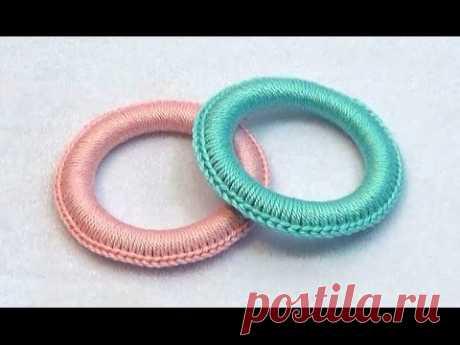 Как обвязать колечко для слингобус (МК №11) // Crochet Teething Ring Tutorial