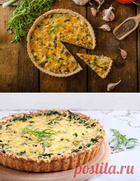 Los pasteles vkusneyshie con la verdura: ¡las recetas más veraniegas! Reparte la receta con los amigos 1. El pastel primaveral con...