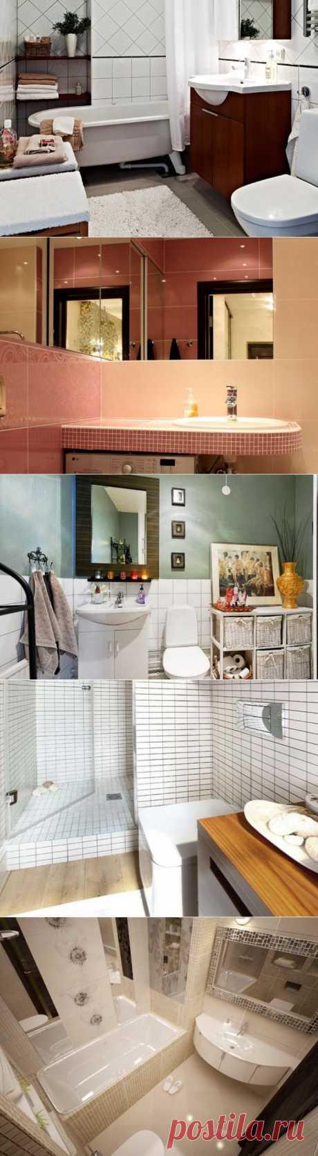 Найти, воплотить, победить: 8 отличных идей для маленькой ванной - Портал «Домашний»