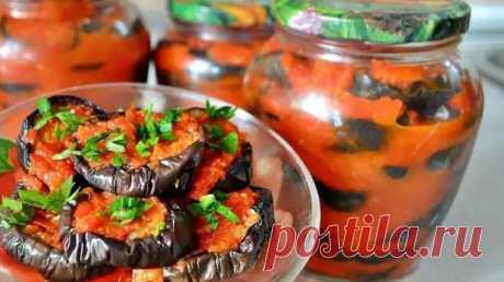 Салат из баклажан с секретиком. Баклажаны приобретают незабываемый вкус - Скатерть-Самобранка - медиаплатформа МирТесен