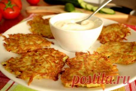 Драники в духовке картофельные рецепт с фото пошагово