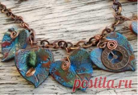 Бижутерия своими руками: бронзовое ожерелье | Своими руками