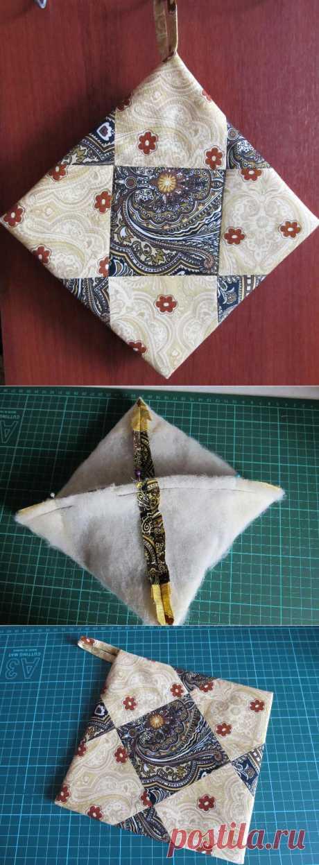Witty way of sewing of tacks