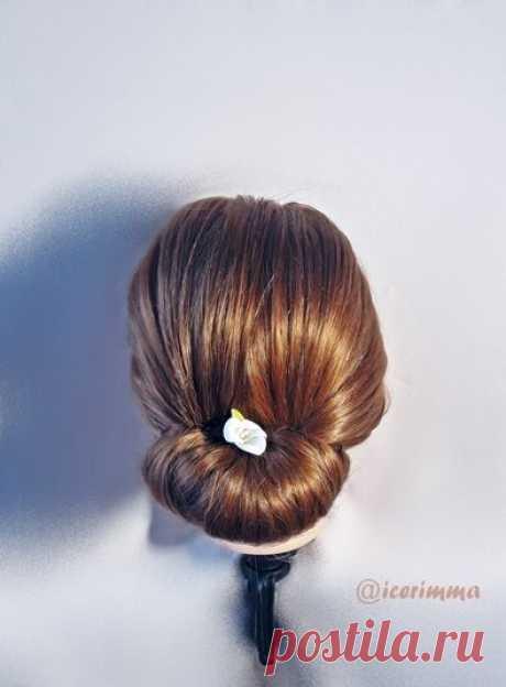 3 простые прически на каждый день, пошагово   Тиара - уход за волосами   Яндекс Дзен